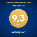 Guest Review Awards 2017 hotel Senderos